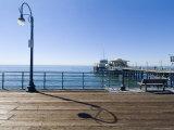 Santa Monica Pier  Santa Monica  California  USA