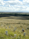Site of Massacre  Including Where Custer Fell  Little Big Horn  Montana  USA