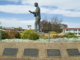 Buddy Holly  Walk of Fame  Lubbock  Texas  USA