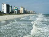 Seashore  Myrtle Beach  South Carolina  USA