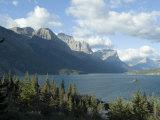Going to the Sun Road  Glacier National Park  Montana  USA