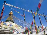 Boudhanath (Bodhnath) Stupa  Unesco World Heritage Site  Kathmandu  Nepal