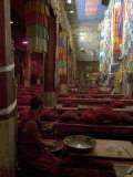 Main Prayer Hall  Samye Monastery  Tibet  China