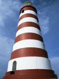 Lighthouse  Hopetown  Abaco  Bahamas  West Indies  Central America