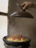 Tagine  Typical Moroccan Food and Pot  Cafe Atlas  Imlil  High Atlas Mountains  Morocco
