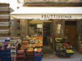 Grocery Store  Cortona  Tuscany  Italy  Euope