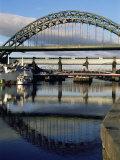 Tyne Bridge  Newcastle Upon Tyne  Tyne and Wear  England  United Kingdom