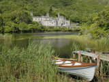 Kylemore Abbey  Connemara  County Galway  Connacht  Republic of Ireland