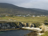 Cove and Village of Ashleam  Achill Island  County Mayo  Connacht  Republic of Ireland