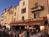 Restaurants Around the Harbour  St Tropez  Var  Cote d'Azur  Provence  France