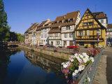 Petite Venise  Colmar  Alsace  France