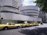 Guggenheim Museum on 5th Avenue  New York City  New York State  USA
