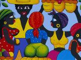 Cuban Painting, Havana, Cuba, West Indies, Central America Papier Photo par Gavin Hellier