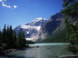 Mount Edith Cavell  Jasper National Park  Rocky Mountains  Alberta  Canada
