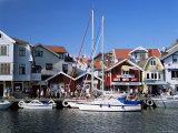 Smogen Fishing Village  Bohuslan Coast  Sweden  Scandinavia