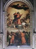 The Assumption by Titian  S Maria Dei Frari  Venice  Veneto  Italy