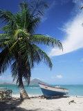 View Towards St Kitts  Nevis  Leeward Islands  West Indies  Caribbean  Central America
