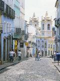 Pelhourinho  Salvador De Bahia  Unesco World Heritage Site  Bahia  Brazil  South America