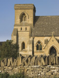 Local Parish Church  Snowshill Village  the Cotswolds  Gloucestershire  England