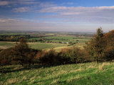 View from the Pegston Hills  of Hertfordshire and Bedfordshire  UK