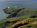 Howth Head Lighthouse  County Dublin  Eire (Republic of Ireland)