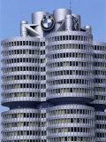 Headquarters of Bmw  Munich  Bavaria  Germany