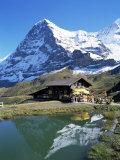 The Eiger  Kleine Scheidegg  Bernese Oberland  Swiss Alps  Switzerland