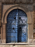 Doorway  Sidi Bou Said  Tunisia  North Africa  Africa