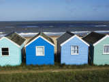 Beach Huts  Southwold  Suffolk  England  United Kingdom