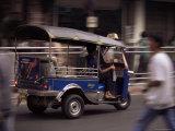 Tuk Tuk Taxi  Bangkok  Thailand  Southeast Asia