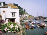 Polperro  Cornwall  England  United Kingdom