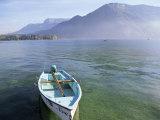 Lake Annecy  Rhone Alpes  France