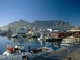 The V & A Waterfront and Table Mountain Cape Town  Cape Province  South Africa