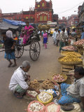 Street Stalls  New Market  West Bengal State  India