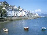 Dovey Estuary and Town  Aberdovey  Gwynedd  Wales  United Kingdom