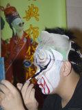 Make-Up Preparations  Taipei Eye  Chinese Theatre  Cultural Dance Performance  Taipei City  Taiwan