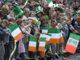 St Patrick's Day Parade Celebrations  Dublin  Republic of Ireland (Eire)