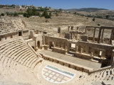 North Theatre  Roman City  Jerash  Jordan  Middle East
