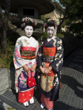 Geisha  Maiko (Trainee Geisha) in Gion  Kyoto City  Honshu  Japan
