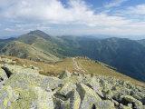 Dumbier Ridge Dominated by Dumbier Peak  2043M  in Low Tatry  Nizke Tatry  Zilina Region  Slovakia