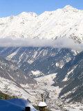 Village of Solden in Tirol Alps  Tirol  Austria