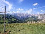 Christian Crosses Dominate Most Prominent Peaks in Alps  2244M  Alto Adige