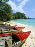 Boston Beach  Port Antonio  Jamaica  West Indies  Central America