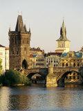Charles Bridge  Old Town Bridge and the Water Tower  Prague  Czech Republic