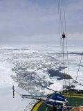 Kapitan Khlebnikov  Russian Icebreaker and Pack Ice  Weddell Sea  Antarctica  Polar Regions