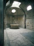 Baths  Pompeii  Campania  Italy