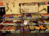Fruit Displayed Outside Shop  Calvi  Corsica  France