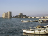 The 13th Century Crusader Castle  Sidon  Lebanon  Middle East