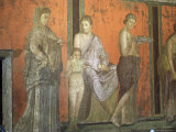 Wall Paintings  Villa of the Mysteries  Pompeii  Unesco World Heritage Site  Campania  Italy