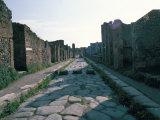 Via Di Nola  Pompeii  Campania  Italy